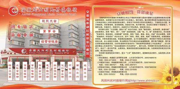 二楼宣传标牌安徽凤阳利民村镇银行简介.jpg